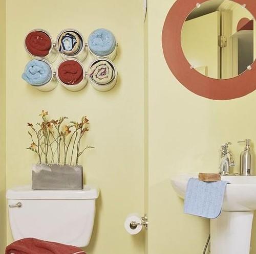 Дизайн ванной своими руками из подручных 96